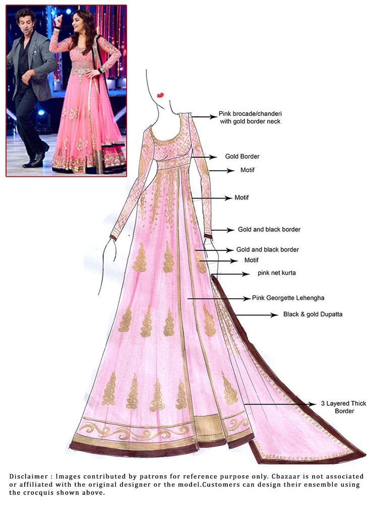 91 best indian wear sketches images on pinterest