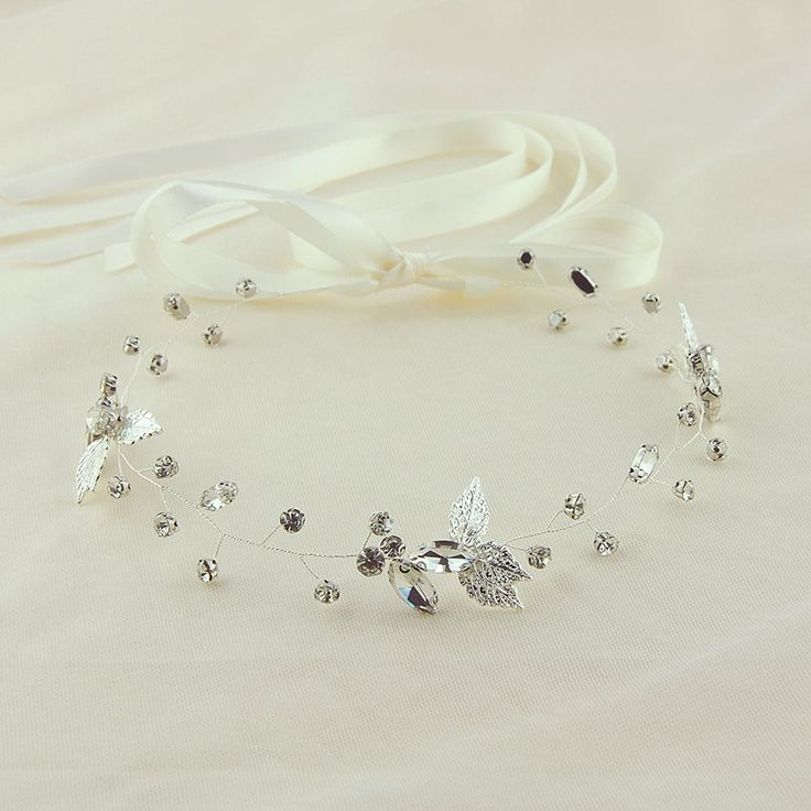 azaleas Crystal Wedding Hairband Hair Comb wedding headband Bridal Floral Wedding Headband Hair Vine Headpiece (HP38) >>> Check out this great article. #hairclip