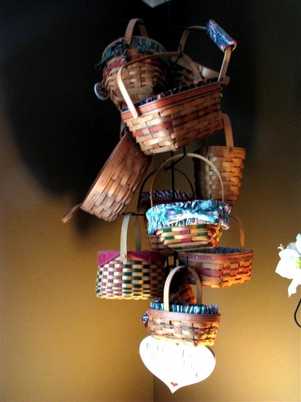 Best longaberger baskets ways to decorate w them
