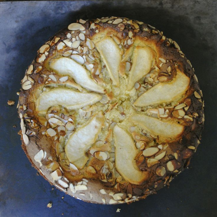 Almond Pear Cake-Gluten Free | Almonds, Pears and Gluten
