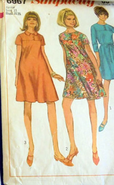 302 best SEWING PATTERNS 1960S 1970S BOHO RETRO images on Pinterest ...