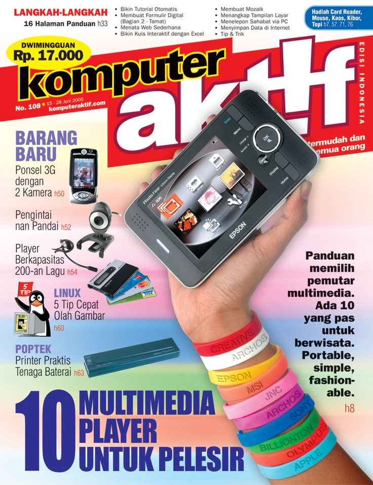 Ed.108 10 Multimedia Player untuk Pelesir
