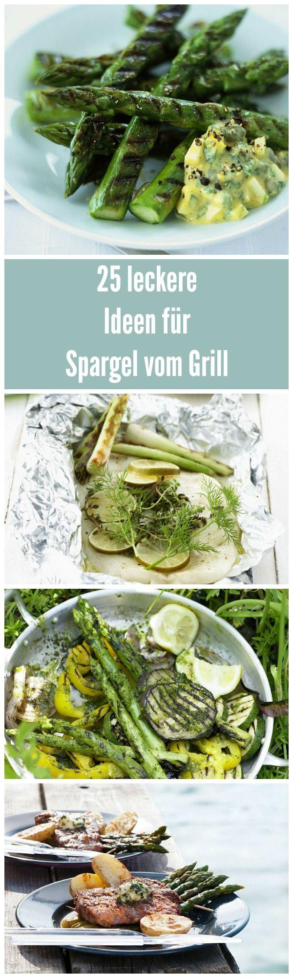 Spargel vom Grill – Habt ihr das schon mal ausprobiert? Ab jetzt läuft kein Grillabend mehr ohne Spargel! Soooooo lecker!!!!