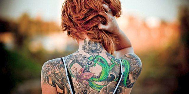 Ecco quali sono le parti del Corpo Più Dolorose dove farsi un Tatuaggio #tattoo