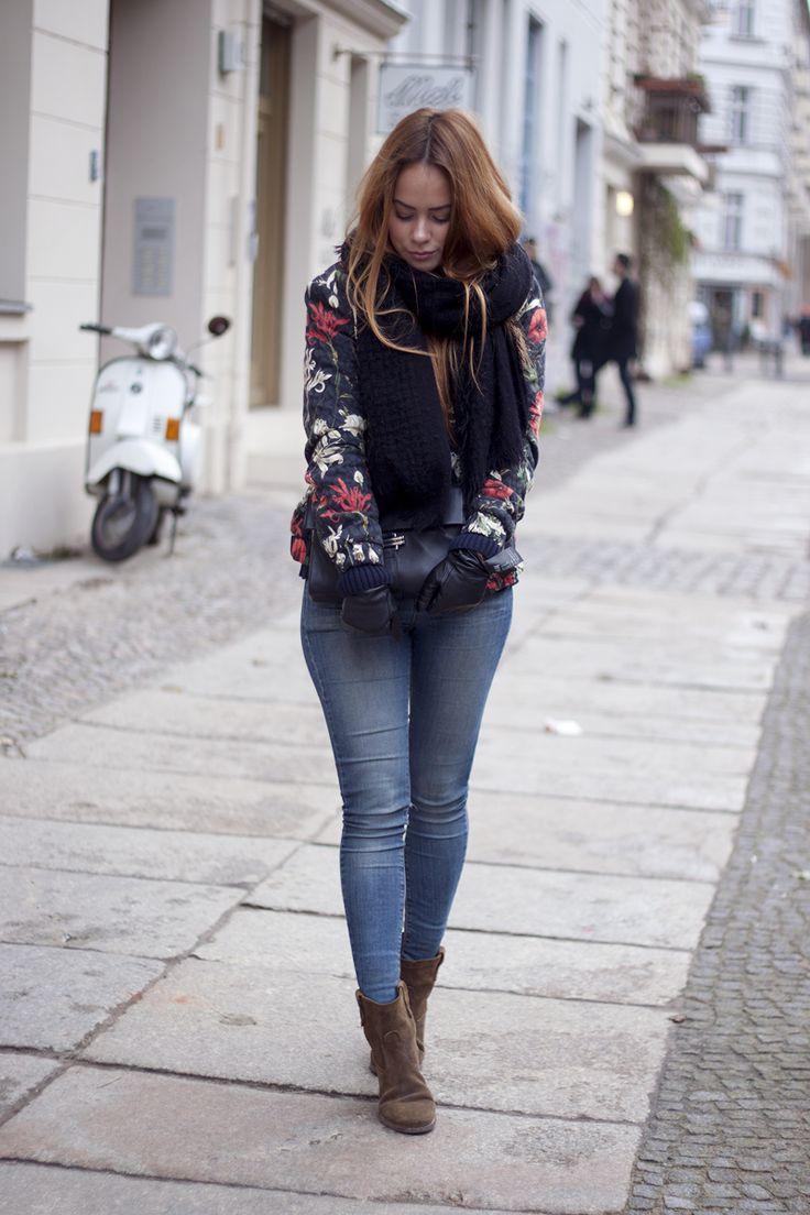 teetharejade Outfit: Winter Blooms - teetharejade