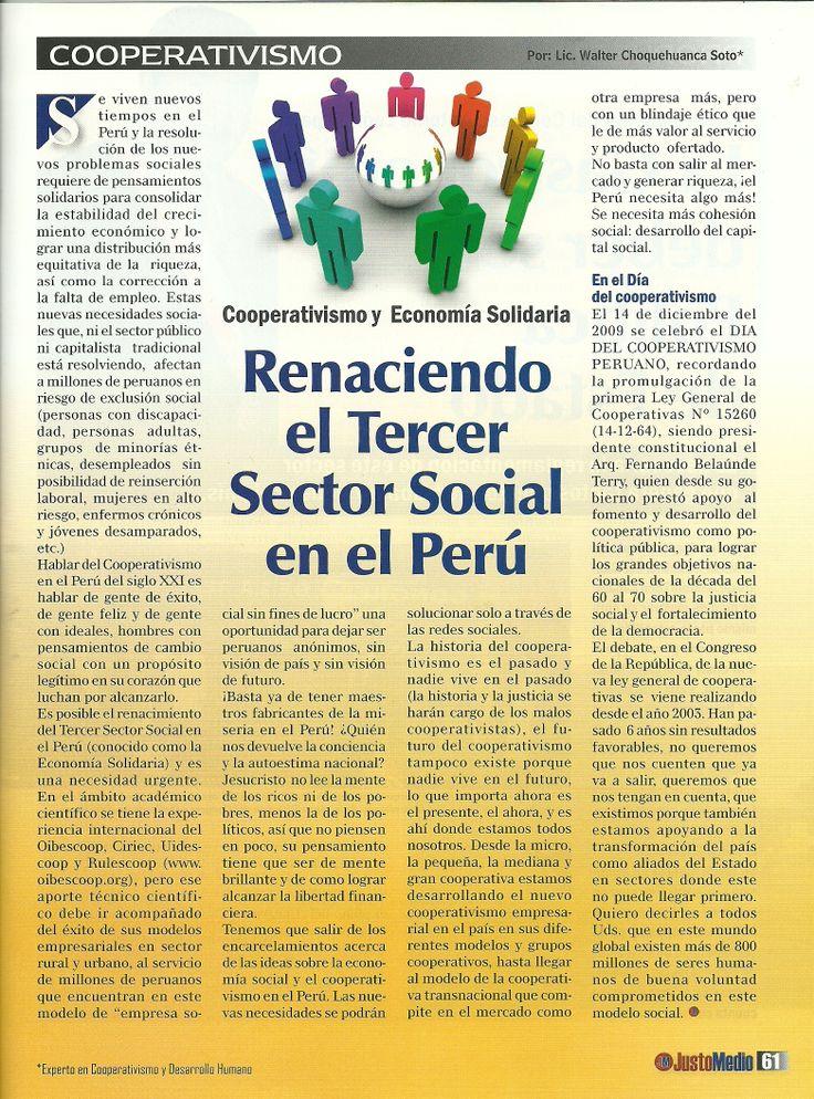 PERU: ECONOMIA SOLIDARIA Y COOPERATIVISMO,POLÍTICAS PUBLICAS