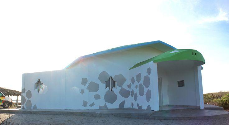 #NoTeLoPuedesPerder En Playa Ceuta encontrarás un maravilloso Campamento Tortuguero, donde aprenderás sobre la vida y desarrollo de la tortuga golfina.