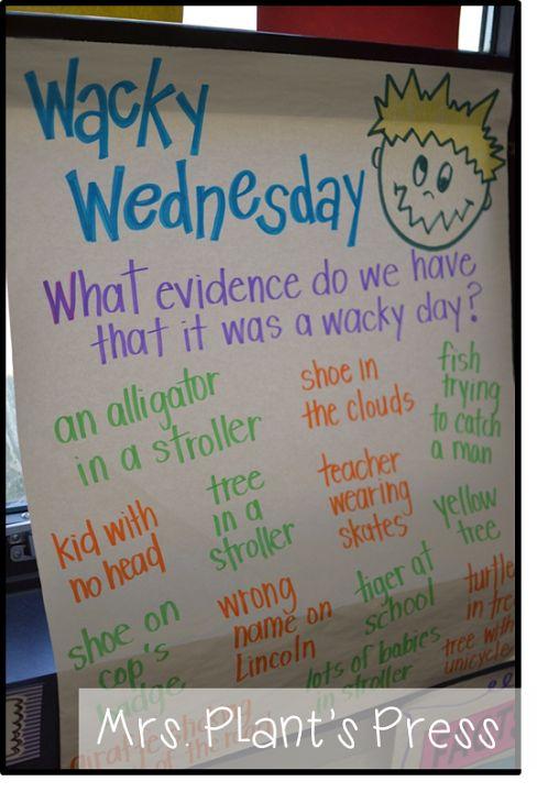 Seuss Wacky Wednesday