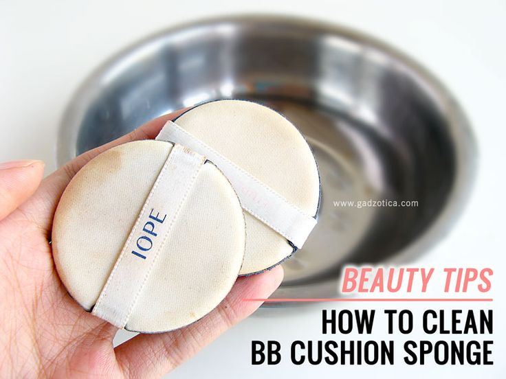 How To Clean BB Cushion Sponge  #beautytips #beauty #hack #tips #beauty101 #blogger #bblogger #beautyblogger #gadzotica