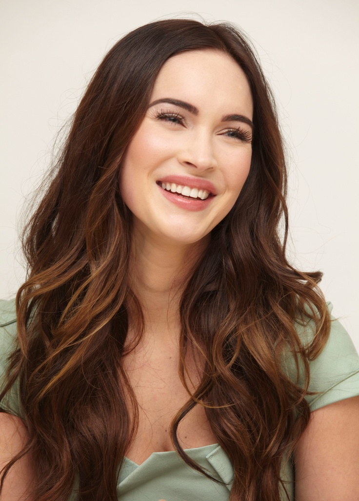 Megan Fox Brown Hair