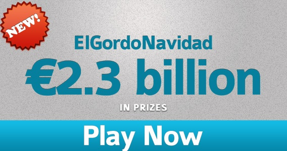 Play the El Gordo Navidad Raffle at PlayHugeLottos.com