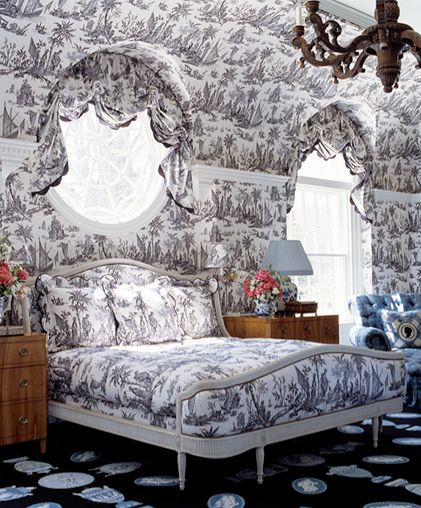 Superior 257 Best Love Toile.... Images On Pinterest   Toile, Bedrooms And Toile  Wallpaper