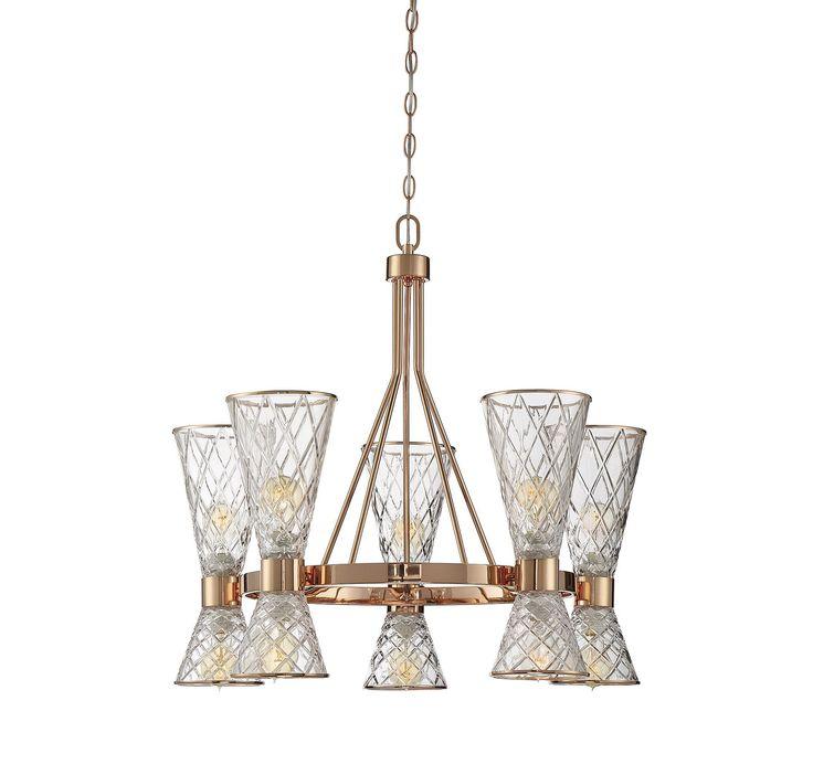 Savoy courtland 10 light chandelier