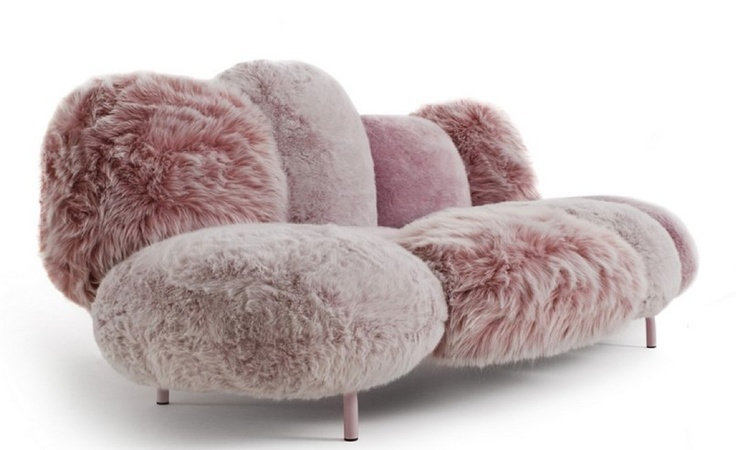 fluffy marshmallow sofa by edra