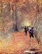 Hunting Aka The Shoot  by Claude Oscar Monet