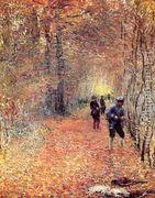 Hunting Aka The Shoot  by Claude Oscar Monet