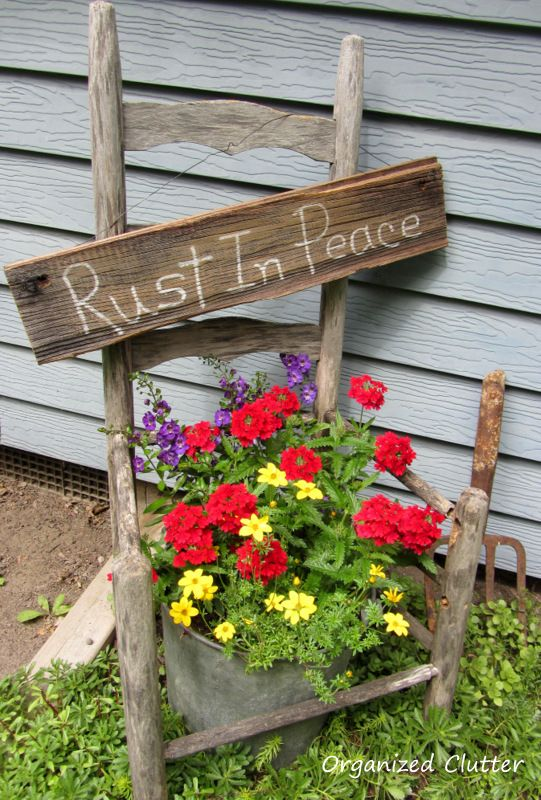 826 Best Garden Crafts And Decorating Images On Pinterest
