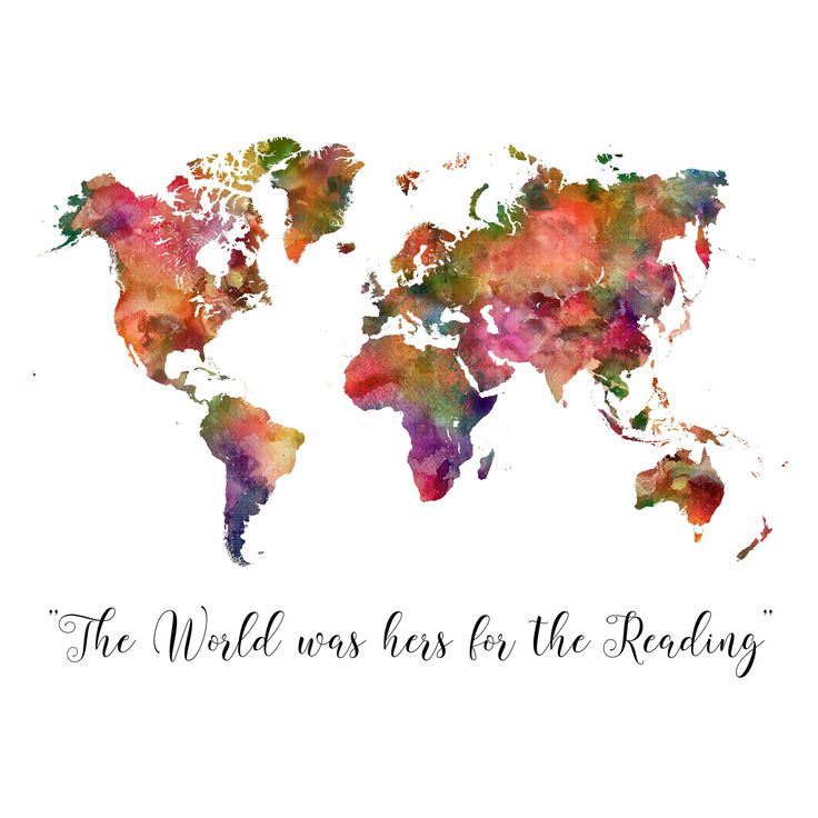 World Map Poster World Map Decor Watercolor Map Printable Large World Map Printable World Map Decor Christmas Gift - Printable Files only by DesignDstudios on Etsy https://www.etsy.com/listing/253559897/world-map-poster-world-map-decor