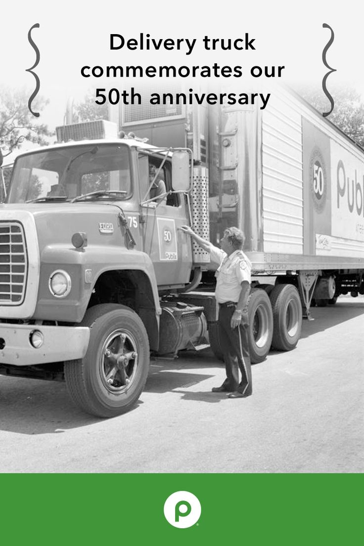 17 best images about my publix publix supermarkets this picture depicts our delivery trucks at publix s lakeland industrial center the anniversary logo