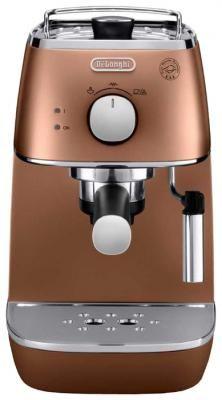 Кофеварка DeLonghi Eci 341 Cp Distinta бронзовый красно-черный