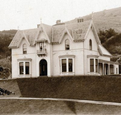 Chingford Mansion (since demolished) on Chingford Park grounds, North East Valley