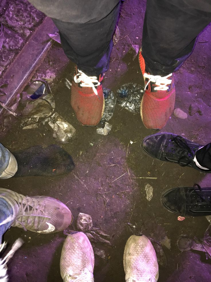 Aftermath of a Travis Scott concert at Woo-Hah! festival