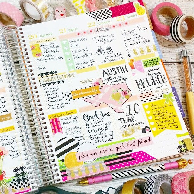 This weekend's Austin road trip. #Goodtimes #documentlife #eclp #plannerlove #planneraddict #mekaseclp: