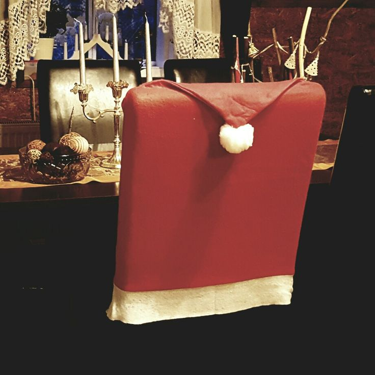 Santa Claus cover for chairs