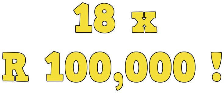 Lottery turns eighteen competition