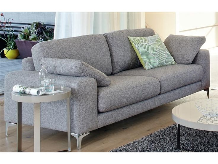 Vue essentials abbey sofa 3 seater in grey fab home for 7 seater living room