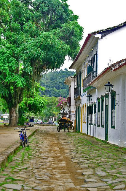 Paraty,  RJ, Brazil by deltafrut, via Flickr