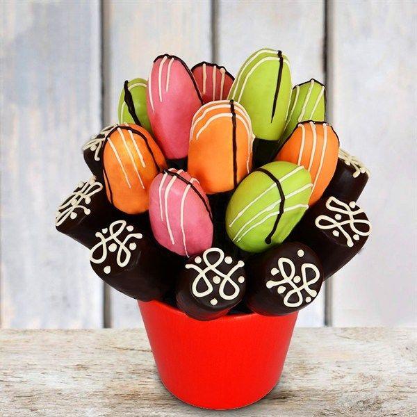 PreYA Meyve Sepeti Çikolatalı Muz Çiçeği
