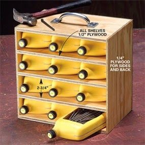 Reuse oil containers