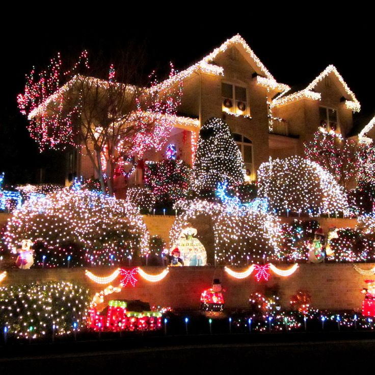 Christmas Light Show Virginia