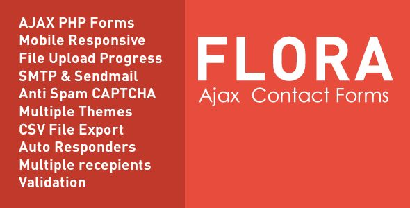 Flora Forms is a set of simple easy to use Clean HTML5 CSS3 responsive forms, with common features...