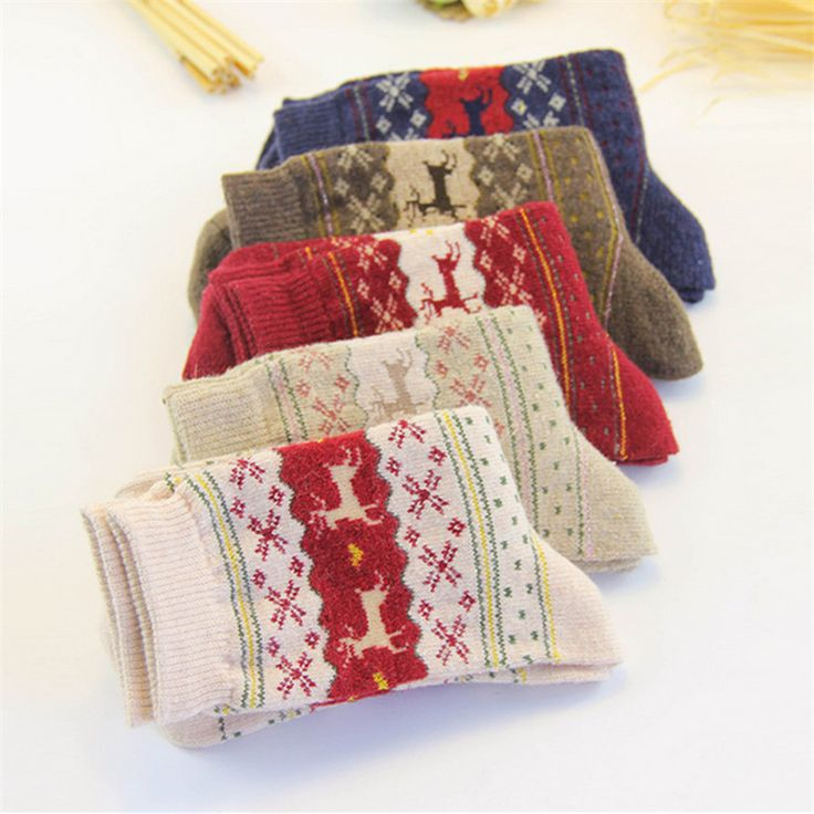 Big Discount! Women's Socks Christmas Gift Sock Fashion Winter 3d Ladies Cute Socks Female Thermal Warm Socks BD001