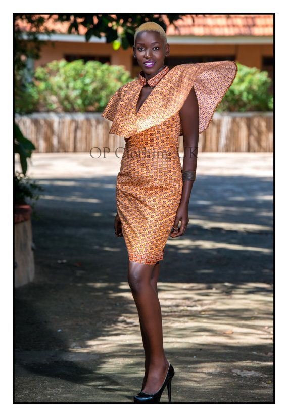 Short African print dress, short Ankara dress, African print dress, short African dress