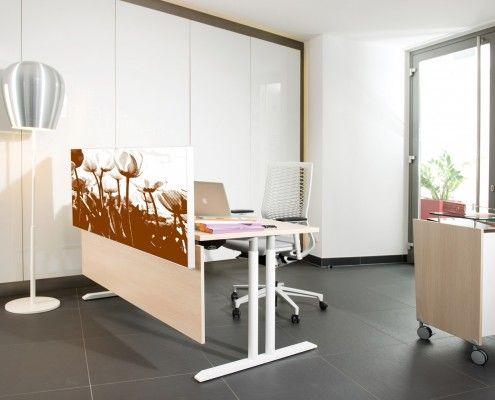 arbeitstisch s130, bull04 & tischpaneel #workplace
