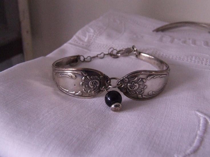 Armband gemaakt van oud bestek