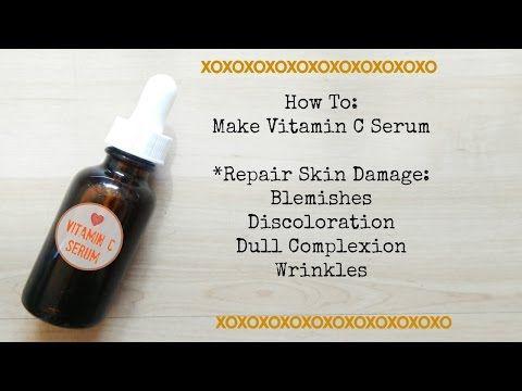 How To Make Vitamin C Serum - YouTube
