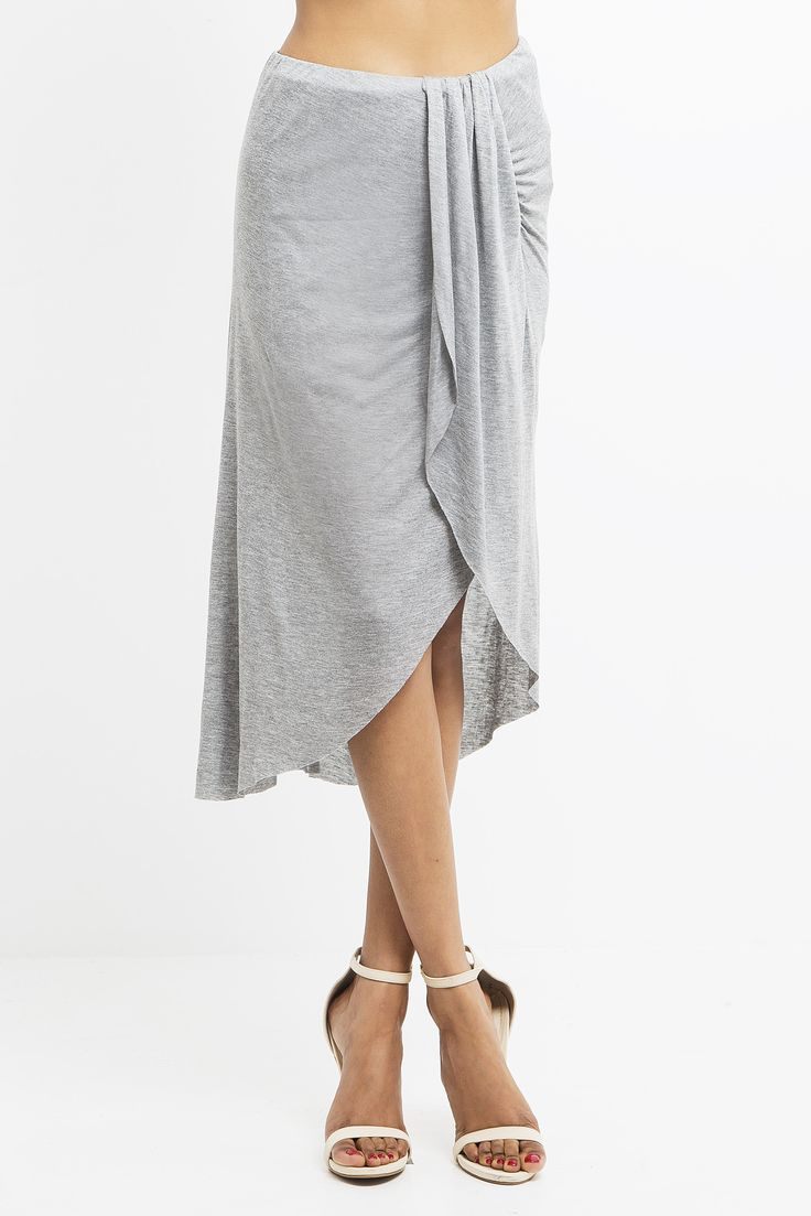 Pull on this deliciously soft and stylish knit skirt to give your Empire a touch of exotic flair. The tencel fabric drapes beautifully while a column of soft pleats at the waist adds visual interest t
