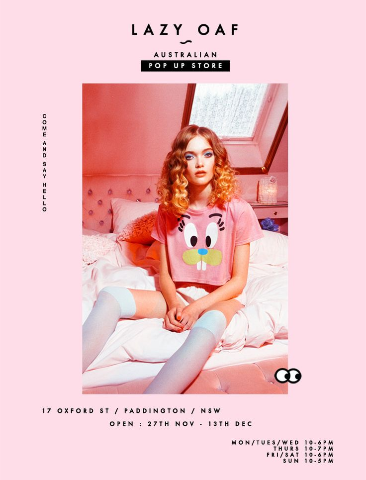 Lazy Oaf Pop-up Store in Australia | Lazy Oaf Journal