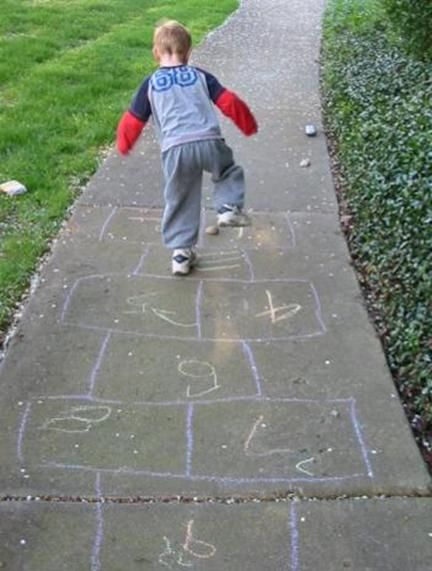 Play Hopscotch For Some Number Fun
