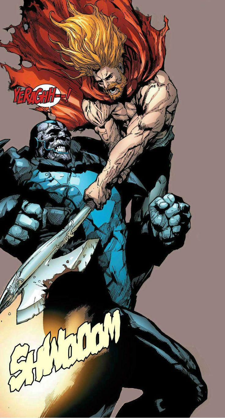Thor vs Apocalypse by Leinil Francis Yu