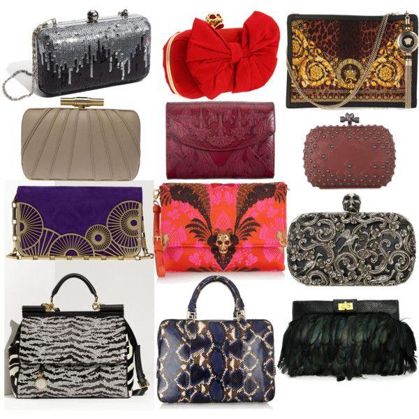 sd bags by skugge on Polyvore featuring Dolce&Gabbana, Tasha, Alexander McQueen, Versace, ASOS, Lara Bohinc, Elie Saab, L'Wren Scott and Bottega Veneta