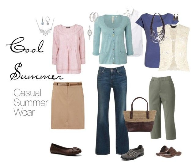 """""""Casual Summer Wear"""" by simplycrimson ❤ liked on Polyvore featuring Gérard Darel, Levi's, Croft & Barrow, Skechers, Kenzo, White Stuff, Phase Eight, Comptoir Des Cotonniers, Vivienne Westwood and James Grey"""