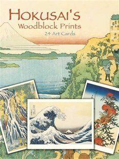 K Nakajima Woodblock Prints Hokusai's Woodblock Prints: 24 Art Cards Book by Katsushika Hokusai ...