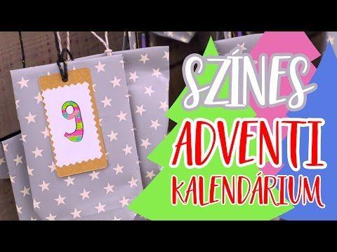 Egyedien Színes Adventi Kalendárium!    INSPIRÁCIÓK Csorba Anitától - YouTube