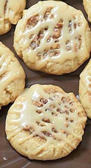 Pecan Pie Cookies ~~ Sweet sugar meets earthy pecans that sit sweetly ...