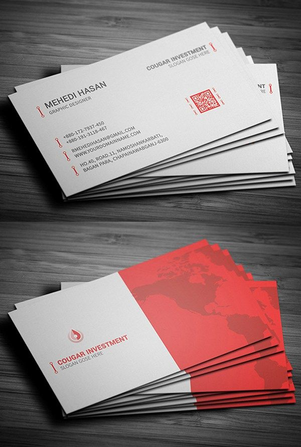 164 best Business Card images on Pinterest | Psd templates ...